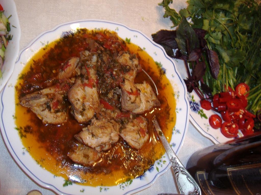 Шашлык из куриного филе рецепт маринада